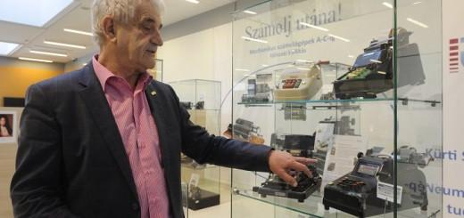 Mechanikus számológépeket bemutató kiállítás nyílt Szegeden