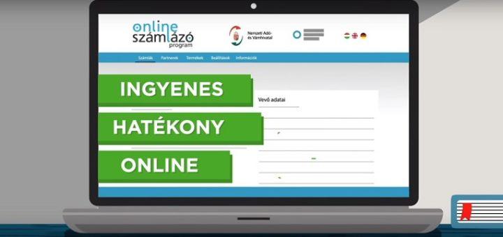 NAV online számlázó program